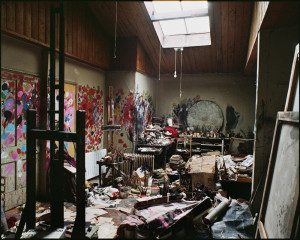 Francis Bacon, reconstructed atelier, 2001 Dublin City Gallery The Hugh Lane