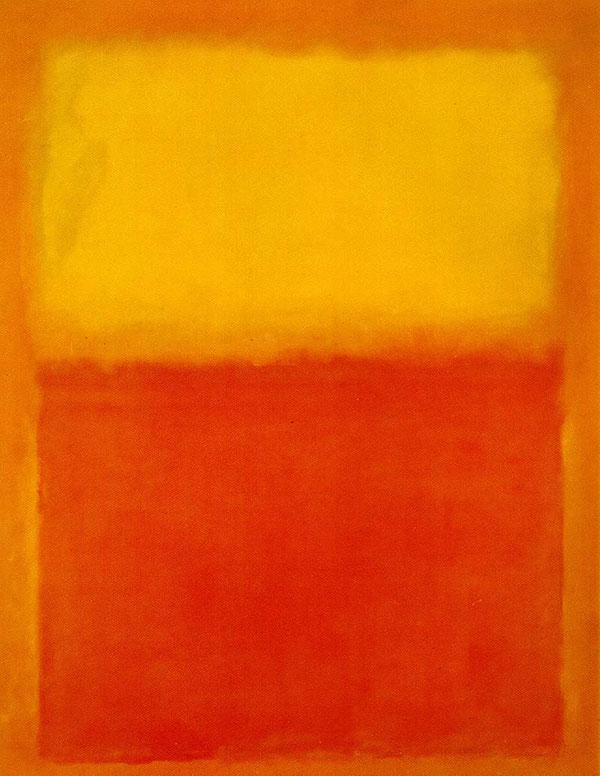 Mark Rothko, Orange and Yellow, 1956