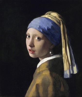 Vermeer, het meisje met de oorbel, 1665/67