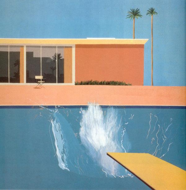 Hockney a bigger splash, 1967