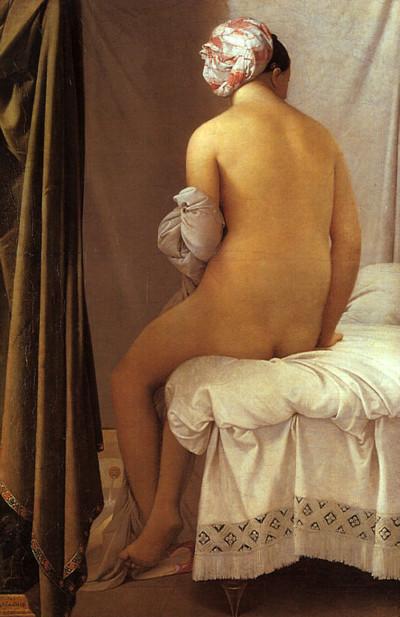 Ingres, de baadster, 1808