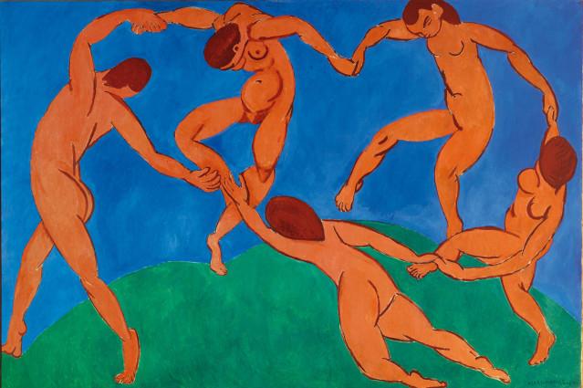 Matisse, La Danse II, 1909