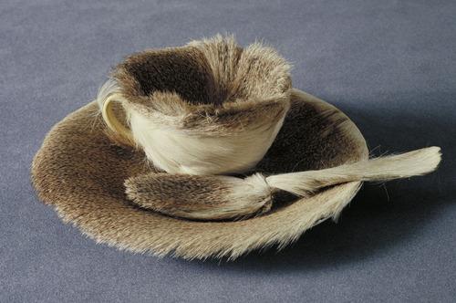M. Oppenheim, Object (Le Déjeuner en fourrure), 1936, MOMA, New York