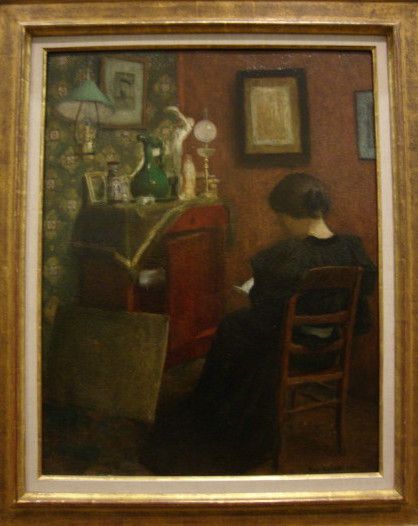 Matisse, lezende vrouw, 1895