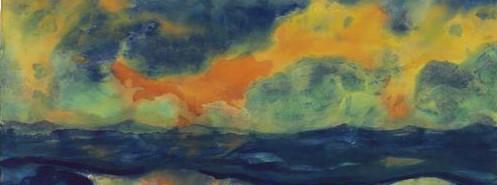 Nolder Herbsthimmel am Mer 1940