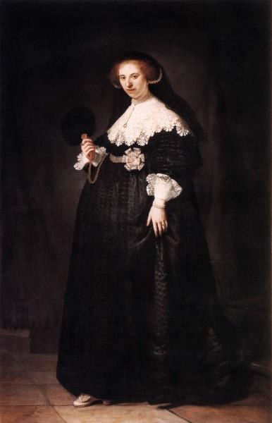 Rembrandt, Portrait of Oopjen Coppit