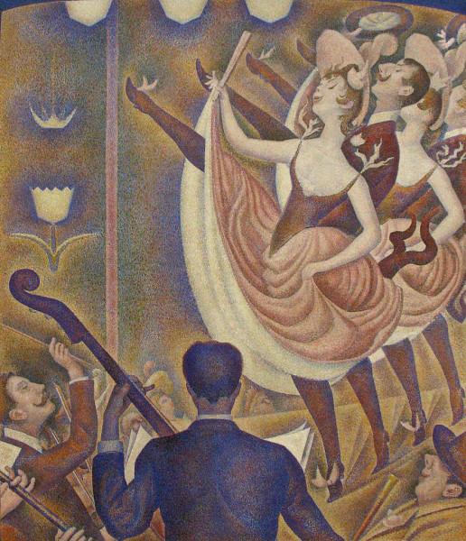 Seurat, Le Chahut, 1890