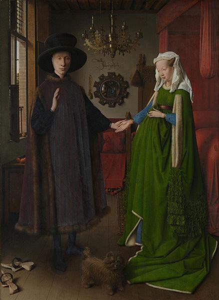 Jan van Eyck, Arnolfini Portret, 1434