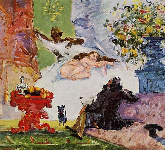 Paul Cézanne, een moderne Olympia, 1873/74, Musée d'Orsay, Parijs