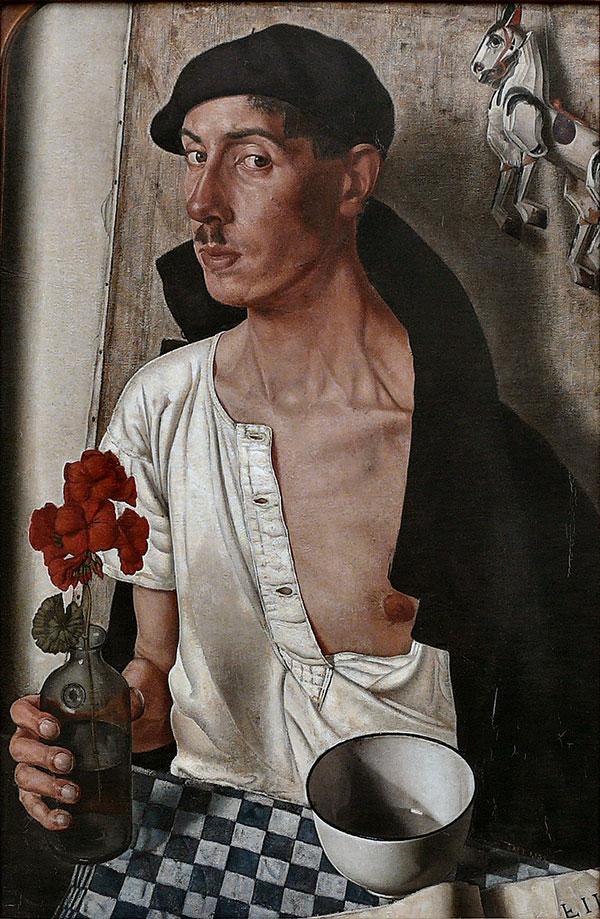 Dick Ket, zelfportret