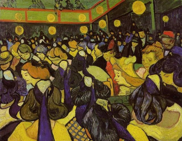La salle de danse a Arles, 1888