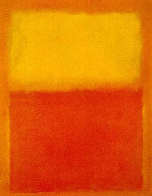 Mark Rothko, Orange and Yellow, 1956